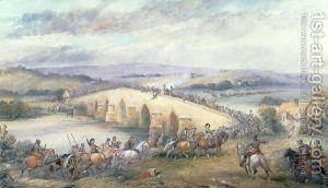 Battle of Preston (1648) where a Royalist army under the Duke of Hamilton was destroyed by Cromwell