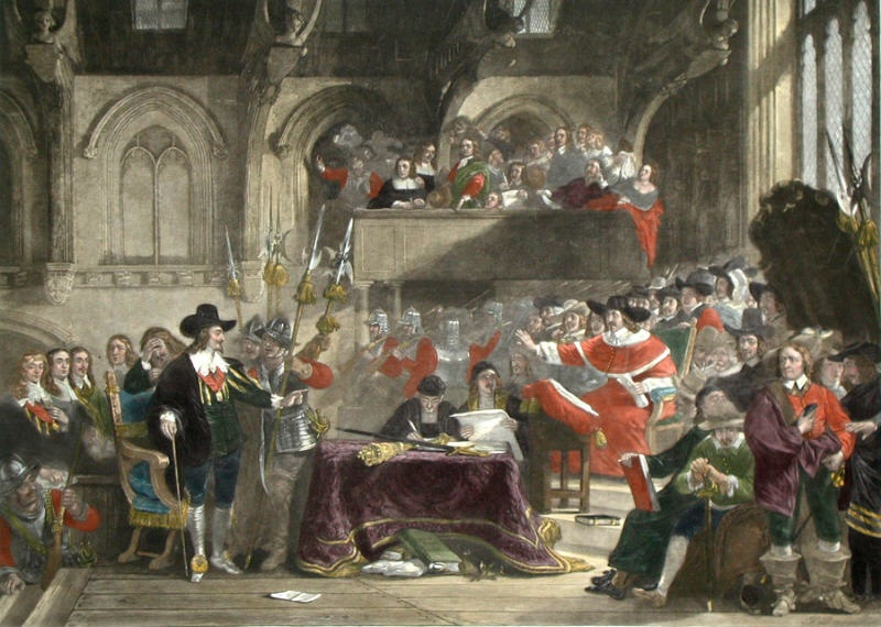 trial of king charles i Scene of the trial of king charles i in westminster hall, in the palace of westminster, london, c1725 king charles i was put on trial for treason in 1648 the tribunal, by a vote of 68 to 67, found the king guilty and ordered his execution in 1649.