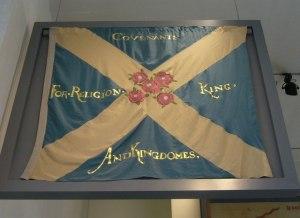 Covenanter_flag,_Royal_Scottish_Museum