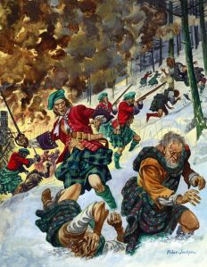The Massacre of Glencoe, February 1692. Carried out by The Earl of Argyll's Regiment of Foot of which Our Archibald was Colonel-in-Chief.