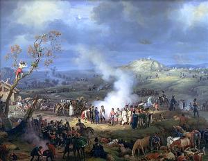 Napoleon's victory at Austerlitz