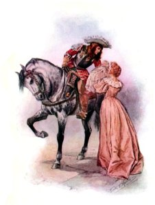Bonnie Dundee takes his final farwell of his wife and son