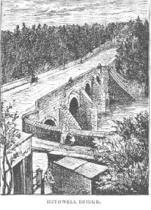 Bothwell Bridge, scene of the eponymous battle