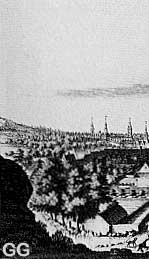 17th century Glasgow, where the Covenanting rebels attacked Claverhouse and Ross