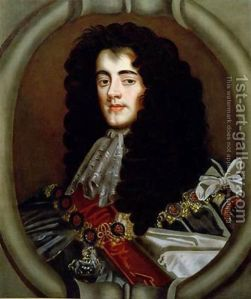 James, Duke of Monmouth. commander of the Government army at Bothwell Bridge