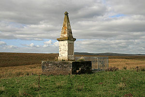 Memorial at Airds Moss