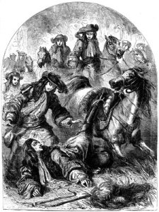 William of Orange, once more thrown from a horse