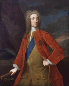 John Campbell, 2nd Duke of Argyll. Victor at Sheriffmuir Archibald's son, John. The first head of the House of Argyll in 4 generations not christened Archibald.