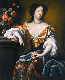 Mary of Modena, wife of the future King James VII & II. Put in her place by General Dalyell.