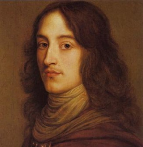 Prince Rupert of the Rhine, nephew of Charles I, defeated at the Battle of Marston Moor, June 1644.