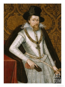 A not untypical, less than heroic portrait of James VI/I