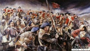 The Jacobite Army victorious at the Battle of Falkirk (17 Jan 1746)