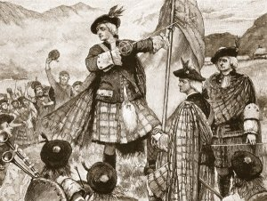 The Earl of Mar raises the Standard (1715)