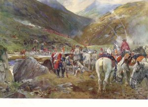 The Battle of Glenshiel (10 June 1719)